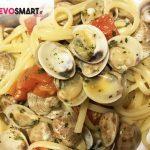 Primo piatto di mare: spaghetti alle vongole