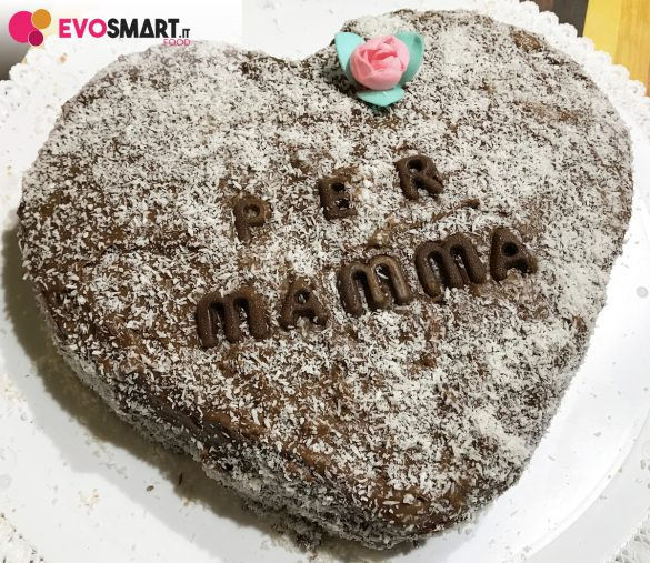 Cuore di crema pasticcera al cioccolato | Evosmart.it