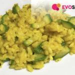 Il risotto perfetto: zafferano e zucchine