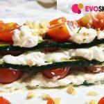 Secondo piatto semplice ed elegante: millefoglie di zucchine