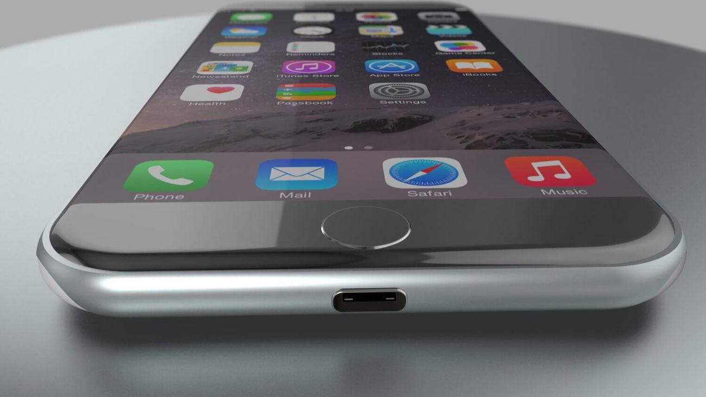 Immagine ipotetica di USB-C su iPhone