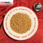 Risotto all'aglio nero di Voghiera