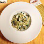 Primo piatto di pasta Granoro e vongole