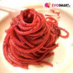 Ecobio in tavola: una cena a base di spaghetti in crema di barbabietola