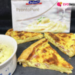 Torta salata con purè Bofrost* e pancetta