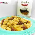 Tubetti Granoro senza glutine con patate, fagiolini e speck