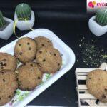 Cookies senza glutine con pistacchio e gocce di cioccolato