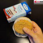 Gelato biscotto con la Crème Patisserie Meggle