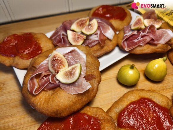 pizzette fritte a lievitazione istantanea