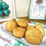 Biscotti morbidi al limone senza glutine e lattosio