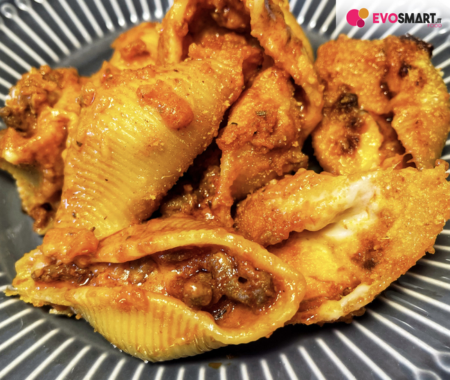 Conchiglioni ripieni al forno: ricetta tradizionale