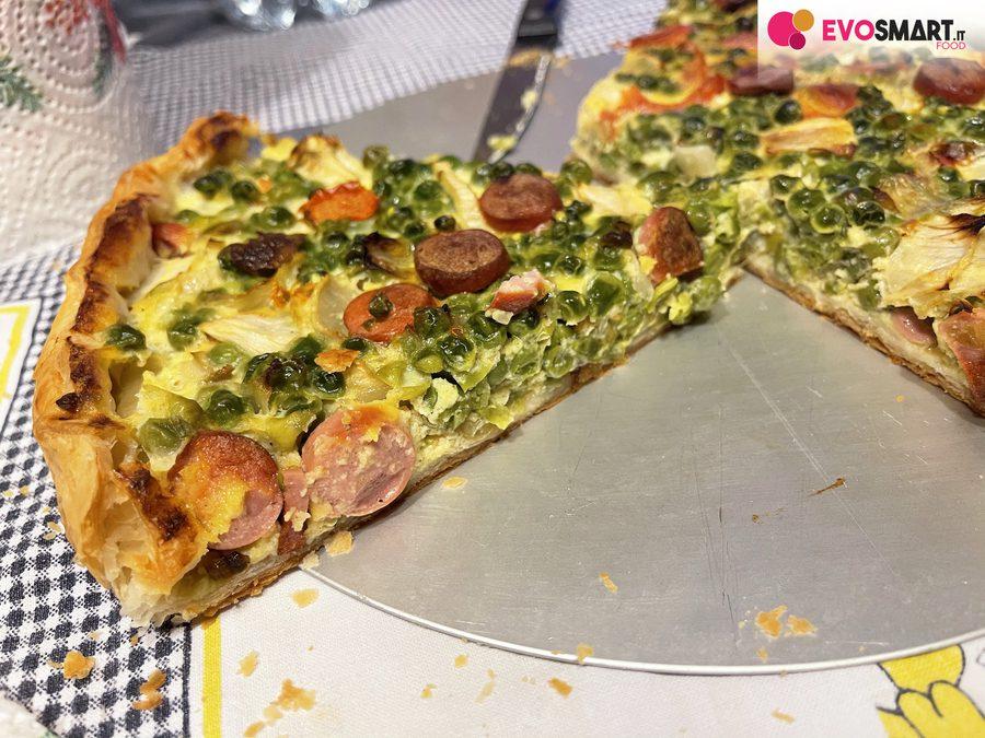 Torta salata salvacena : un'idea gustosa
