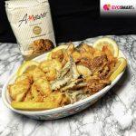 Frittura di pesce fatta in casa con farina di semola Molini Amoruso