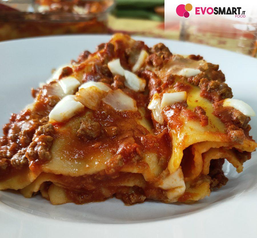 Lasagna senza glutine e senza lattosio con le sfoglie DeAngelis|Evosmart.it