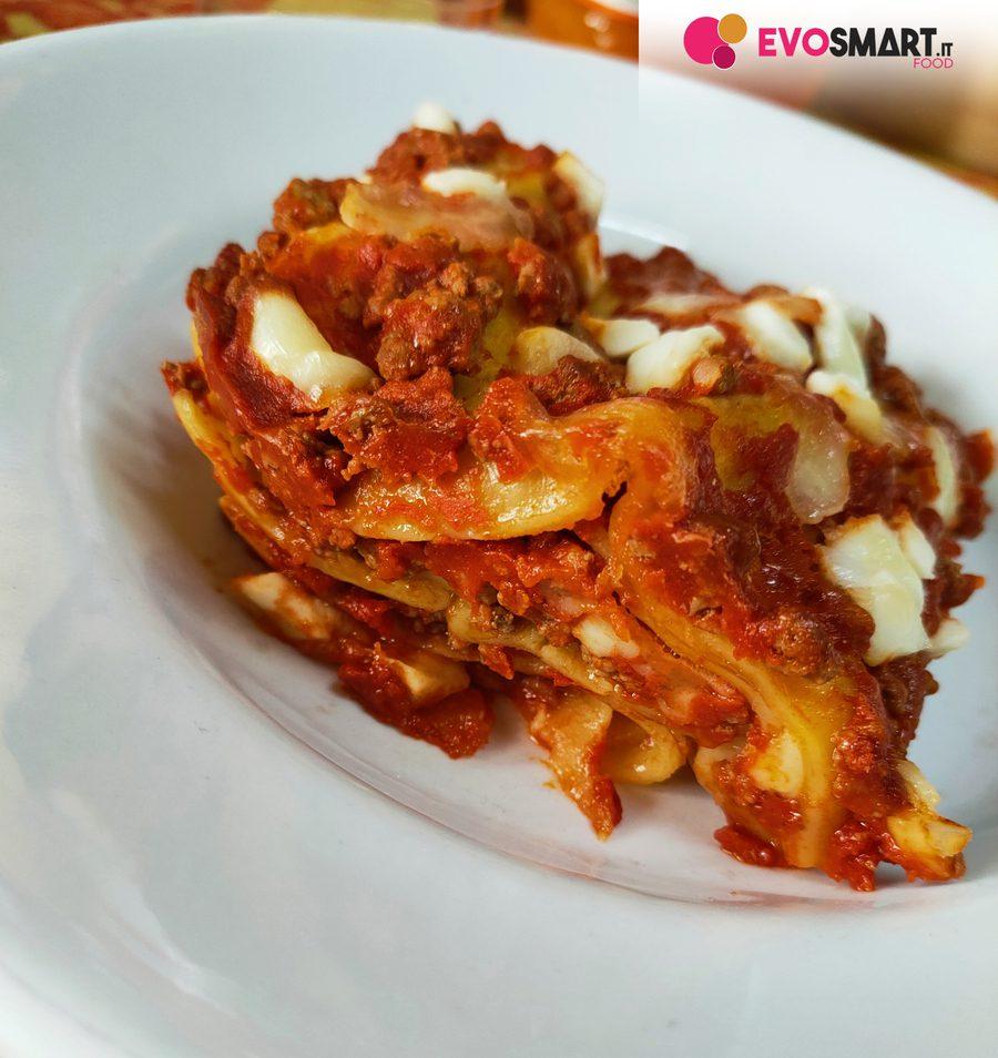 Lasagna senza glutine e senza lattosio con le sfoglie DeAngelis|Evofood.it