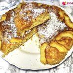 Torta in padella con le mele pronta in 12 minuti!