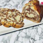 Plumcake bicolore: colazione sana e golosa